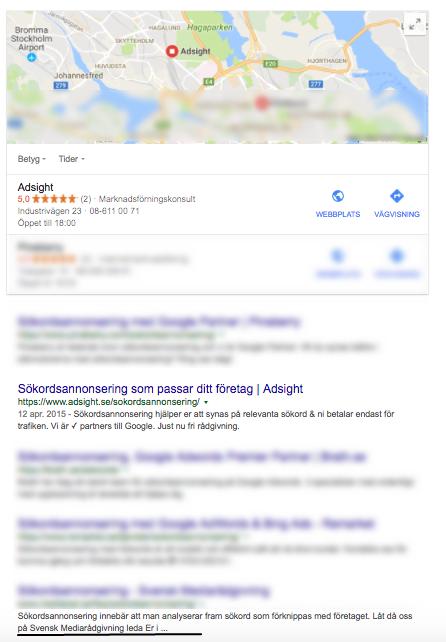 Lokal sökoptimering med titlar och meta-beskrivningar