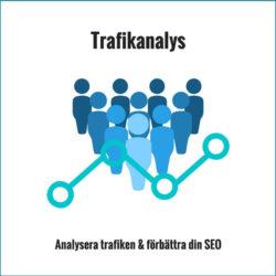 trafikanalys - analysera trafiken och förbättra din sökmotoroptimering