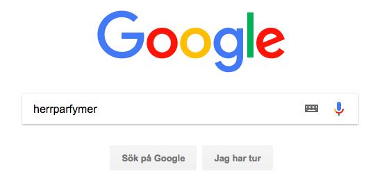 Google sökning