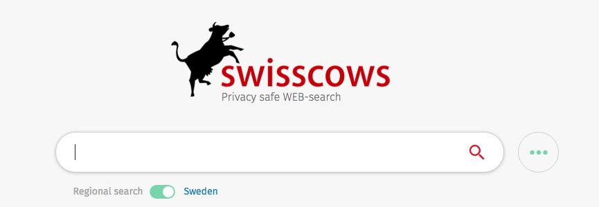 Swisscows sökmotor