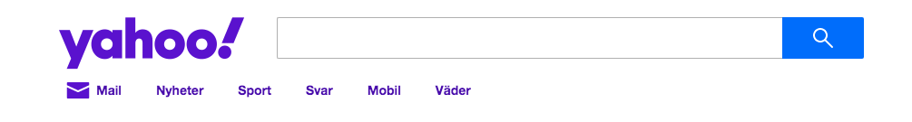 Yahoo sökmotor