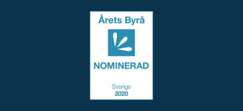 Adsight är en av de nominerade till Årets Byrå 2020